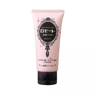 ROSETTE Sengan Pasta Face Wash Cleansing White Mud