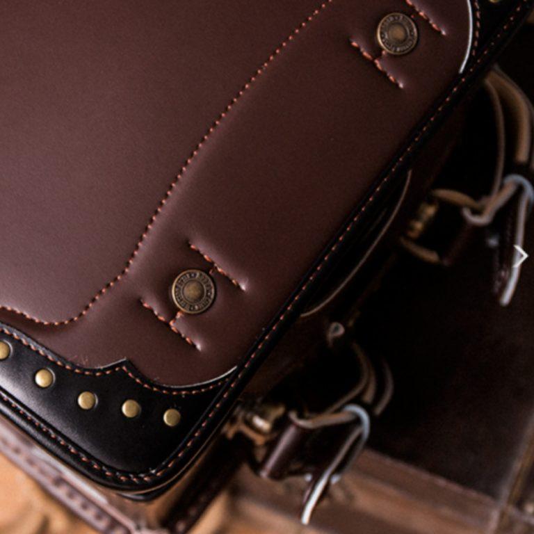 RODEO Premium Randoseru School Backpack 2017 Model - Brown Handmade in Japan