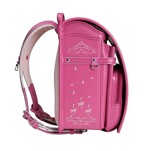 SEIBAN Randoseru Model Royal Romantic Pink - Swarovski & Angel Wings