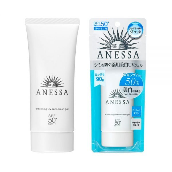 SHISEIDO New 2018 Anessa Whitening UV Facial Sunscreen Gel Made in Japan