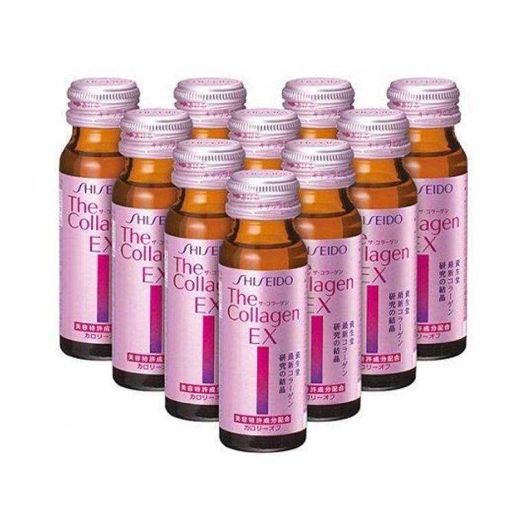 SHISEIDO The Collagen EX Drink V - 50ml x 10 Bottles