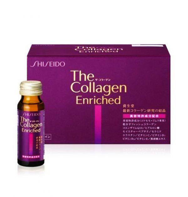 SHISEIDO The Collagen Enriched Drink V - 10 Bottles