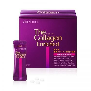 SHISEIDO The Collagen Enriched Tablet V - 4 pcs x 60 Sachets