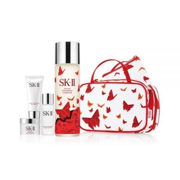 SK-II Beautiful Red Facial Treatment Essence Limited Edition - Artisan & Artist Pouch