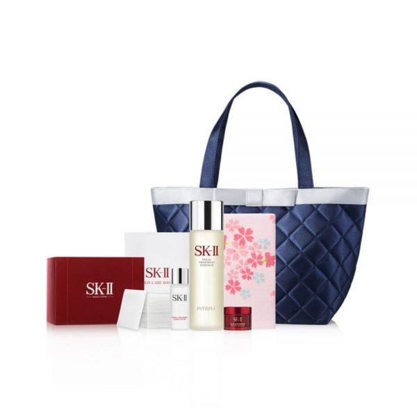 SK-II Sakura Facial Treatment Essence 230ml - Anti-Aging Set