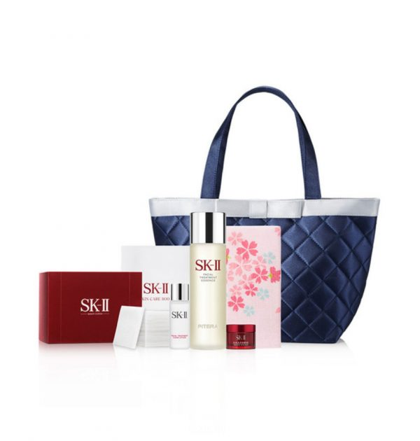 SK-II Sakura Facial Treatment Essence 230ml - Anti-Aging Set