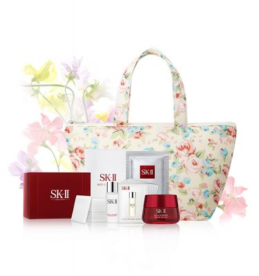 SK-II Sweet Pea R.N.A Power 80g - Flower Day Bag Set