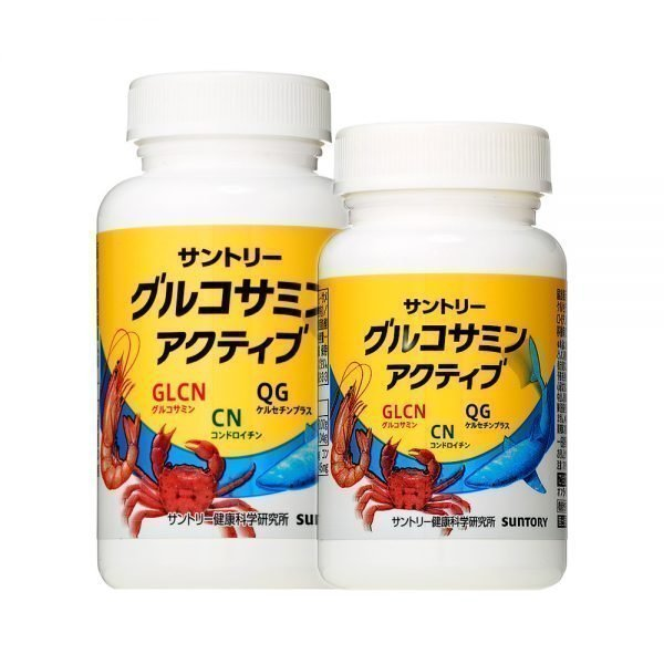 SUNTORY Glucosamine & Chondroitin 180 Tablets 60 days Made in Japan