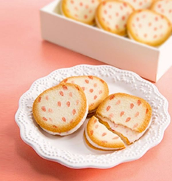 Tokyo Banana Tree Syally Mate Cookies - Strawberry 16pcs