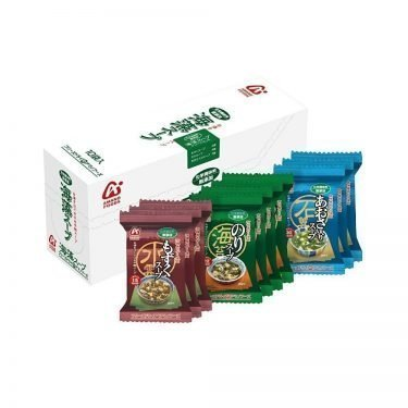 AMANO FOODS Additive-Free Seaweed Soup Assortment - Freeze-Dried 10 Bags