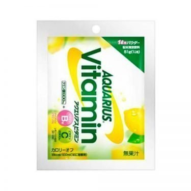 AQUARIUS Vitamin Sports Drink Powder
