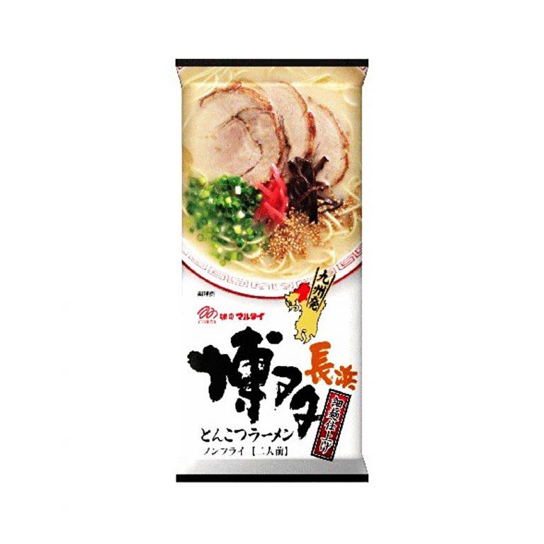 MARUTAI Nagahama Hakata Tonkotsu Ramen - 2 Servings x 5 Bags