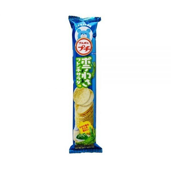 BOURBON Petit Wasabi Potato Chips with French Salad Flavour