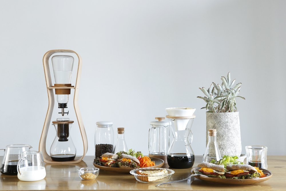 IWAKI Snowtop Water Drip Coffee Server