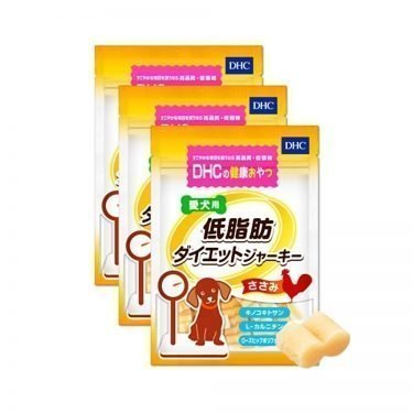 DHC Pet Dog Diet Chicken Jerky - 100g x 3 Bags