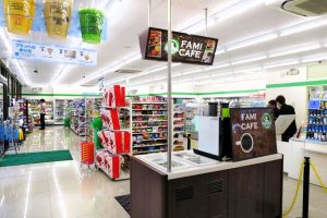 Family Mart offers Fami Cafe