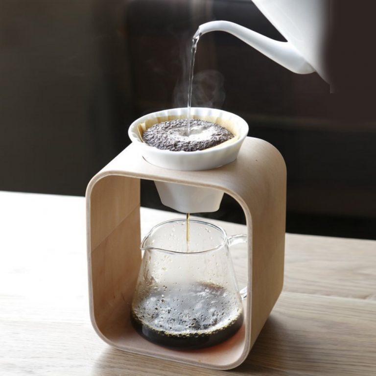 IWAKI Snowtop Coffee Pot & Dripper Set - 600ml Made in Japan