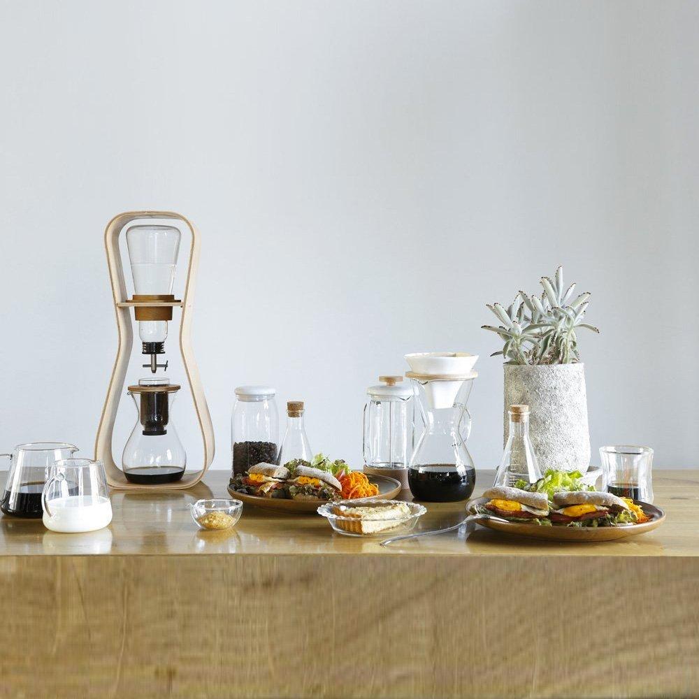 IWAKI Snowtop Water Drip Coffee Server