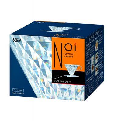 KEY COFFEE Crystal Dripper Made in Japan