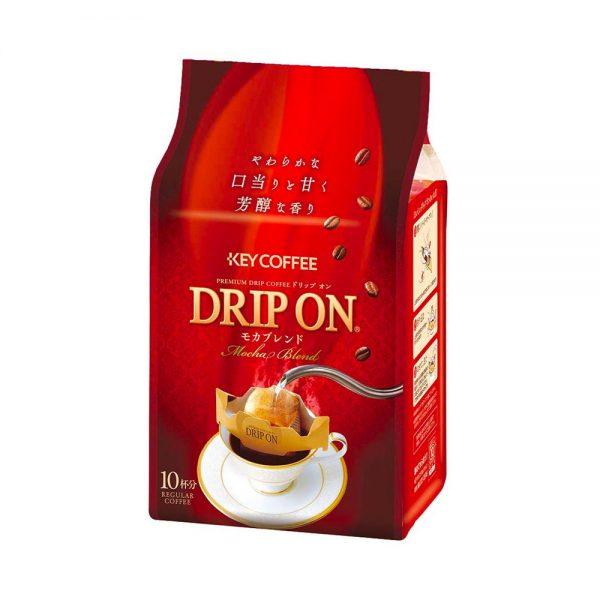 KEY COFFEE Drip On Mocha Blend - 8g × 10pcs