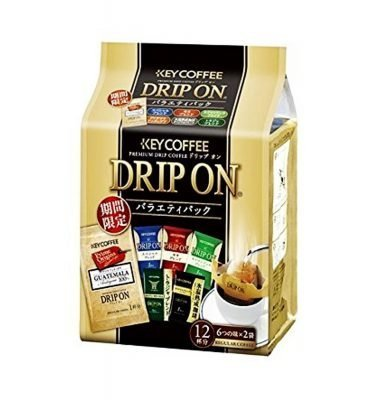 KEY COFFEE Drip On Variety Pack - 6 Flavours 12pcs