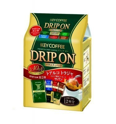 KEY COFFEE Premium Drip On Variety Pack Made in Japan