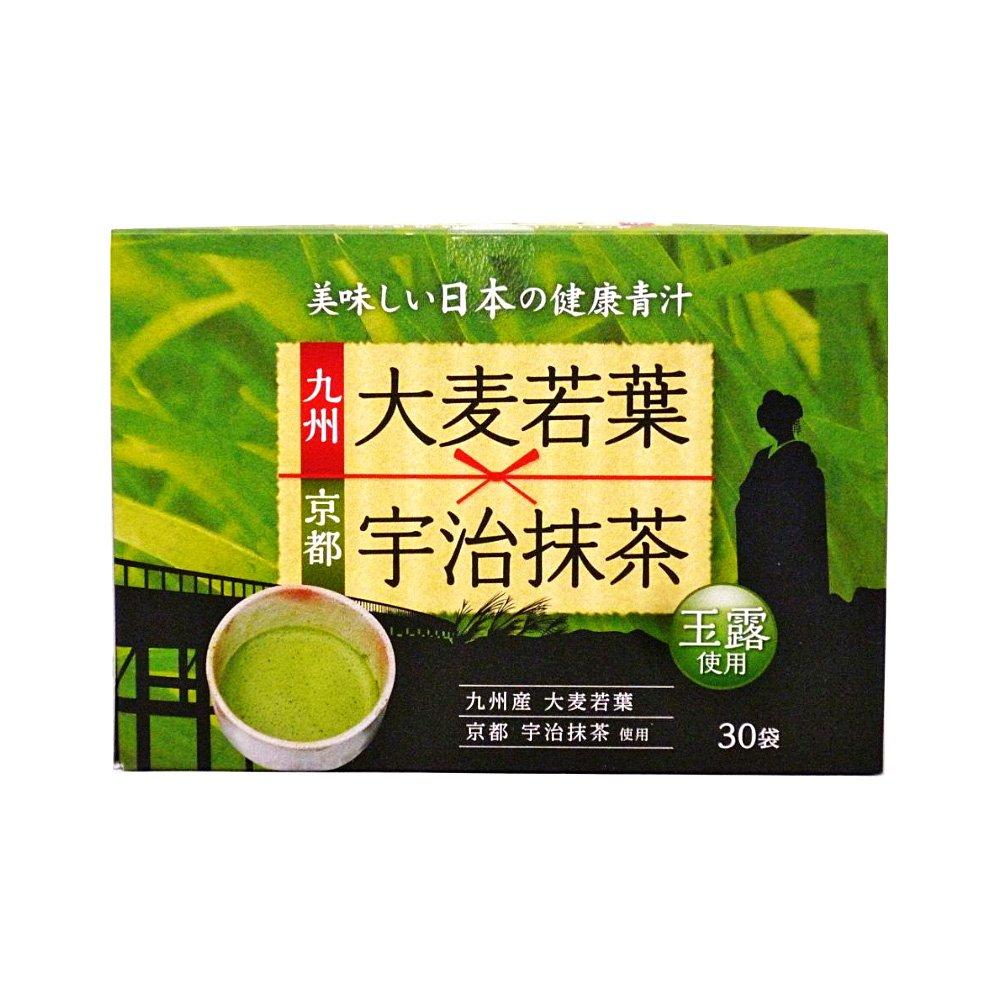 Kyushu Barley Grass with Kyoto Uji Matcha Gyokuro - 3g x 30 Sticks