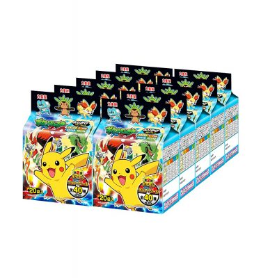 MARUMIYA Pokemon Furikake Rice Seasoning - 4 Flavours 20pcs
