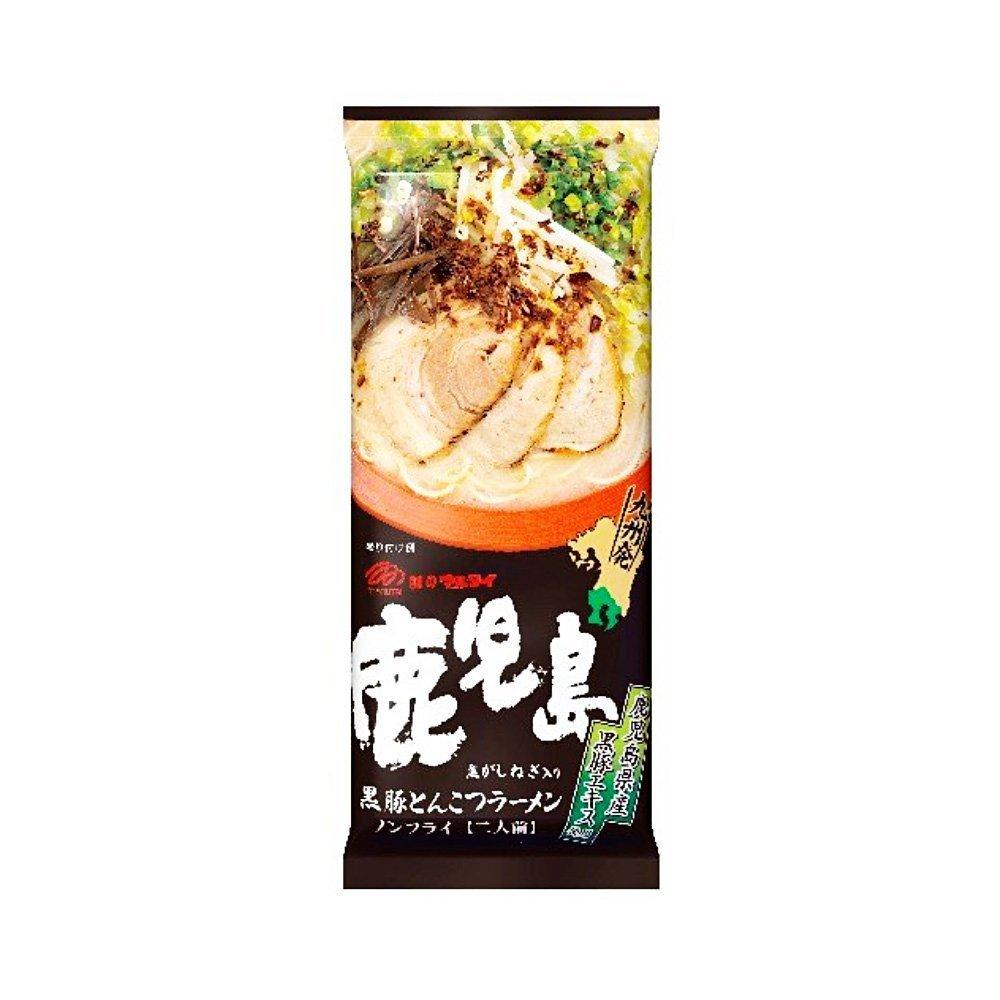 MARUTAI Kagoshima Black Pork Tonkotsu Ramen - 2 Servings x 5 Bags