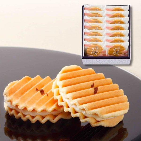 MINAMOTO KITCHOAN Fukuto Senbei Sweet Rice Crackers Made in Japan