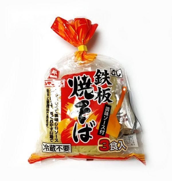 MIYAKOICHI Steam Teppan Yakisoba with Sauce - 3 Servings