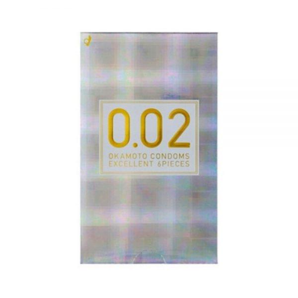 OKAMOTO 0.02 EX Regular Size - 6 pcs