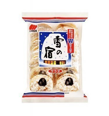 SANKO SEIKA Yuki No Yado Rice Crackers - Salad Type 24 pcs