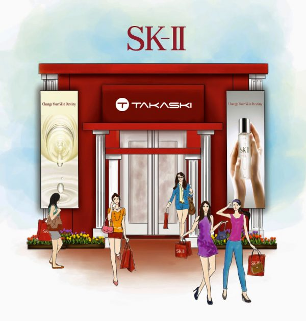 SK-II on Takaski