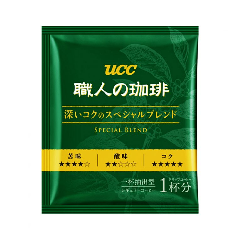 UCC Craftsman Drip Coffee - Deep & Rich Special Blend 18pcs