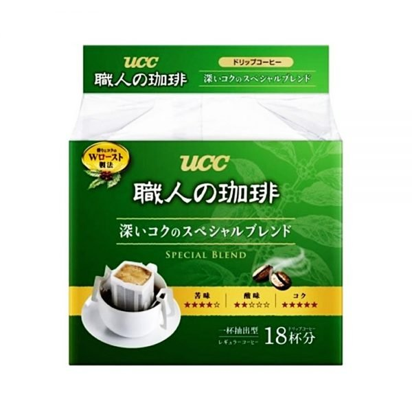 UCC Craftsman Coffee Drip Deep & Rich Special Blend - 18pcs