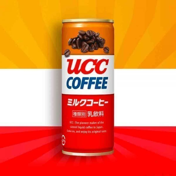 UCC Original Blend Milk Coffee World's First Canned Coffee Cans Made in Japan