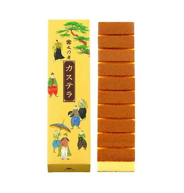 BUNMEIDO Castella 10 Slices Made in Japan