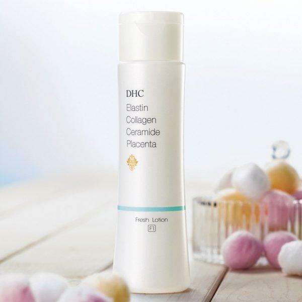 DHC Elastin Collagen Ceramide Placenta Fresh Lotion F1