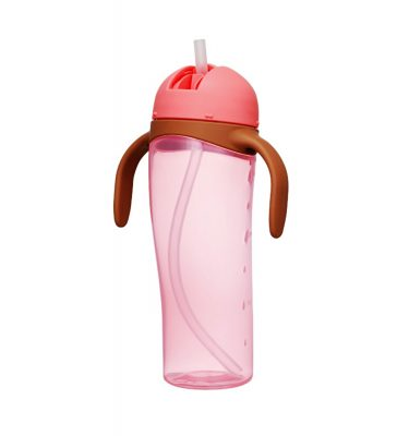 PIGEON Baby Training Drinking Bottle with Straw for 9 Months+ - 330ml