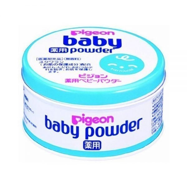 PIGEON Medicated Baby Powder Blue Can with Collagen & Squalance - 150g