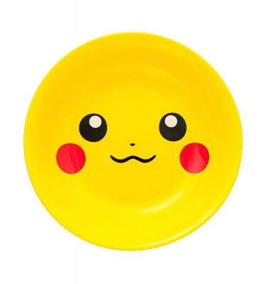 Pokemon Original Large Plate with Pikachu Yellow - 25cm