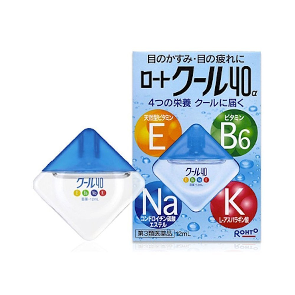 ROHTO Cool 40a Eye Drops - 12ml