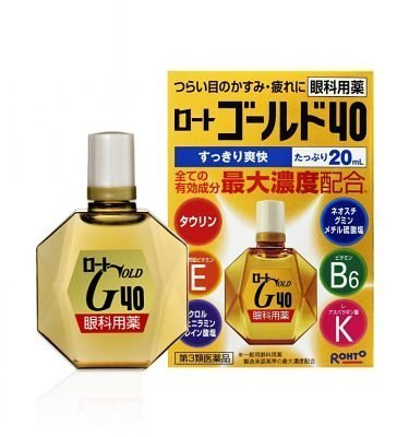ROHTO Gold 40 – 20ml