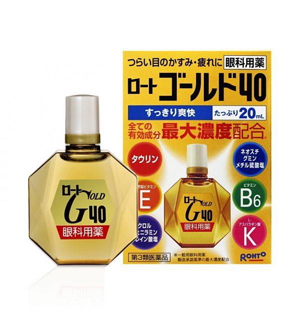 ROHTO Gold 40 – 20ml