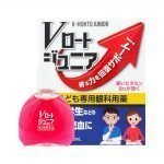 ROHTO Junior Kids V Rohto Eye Drops Made in Japan