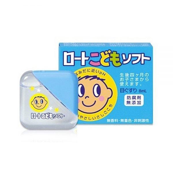 ROHTO Kids Soft Eye Drops - 8ml