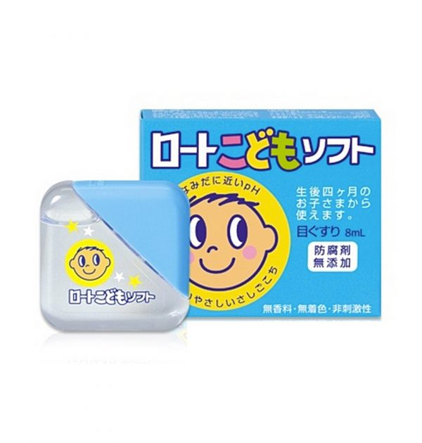 ROHTO Kids Soft Eye Drops - 8ml