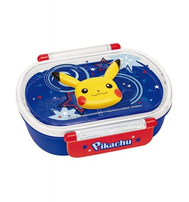 SKATER Pokemon Lunch Box with Pikachu - 360ml