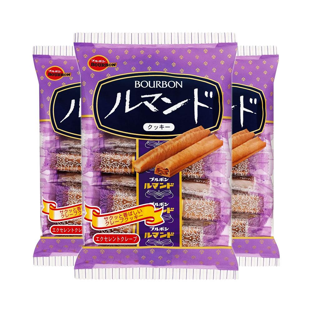 BOURBON Cookie Lumonde Made in Japan